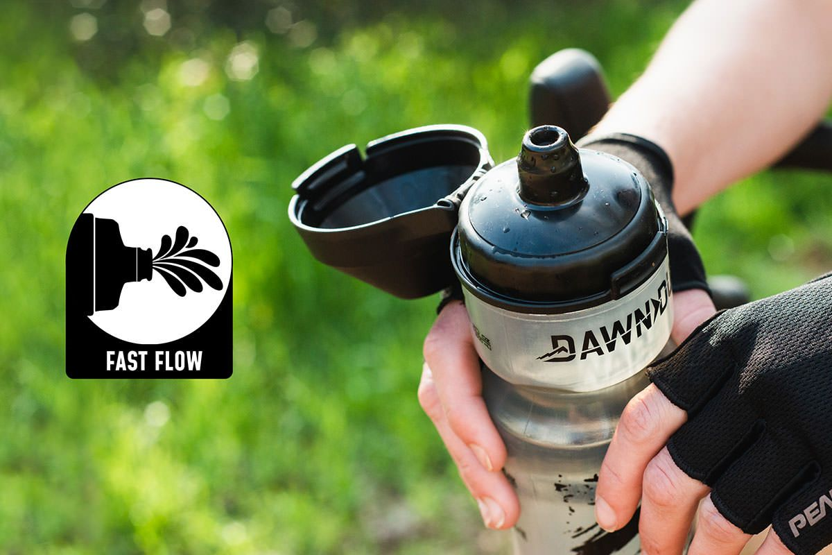 Aqua-Flow-Bottle-mountain-gravel-road-bike-cycle-cycling-insulated-water-hydration-universal-compatible